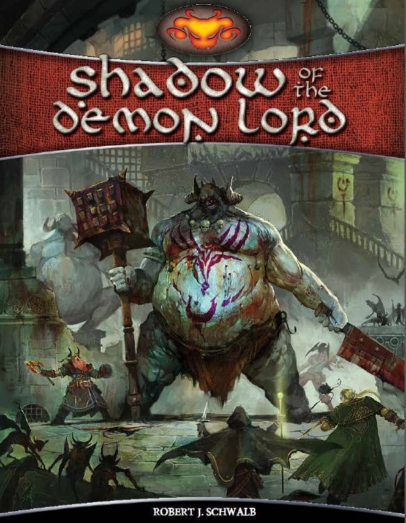 Cover Shadow of the Demon Lord - bald auf deutsch