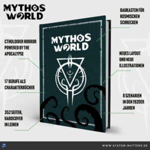Vorschau auf die Features von Mythos World
