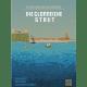 """Cover des Fanzines """"Die glorreiche Stadt"""" - Eine Hafenlandschaft in Pixelgrafik"""